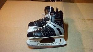 Paires de patins hockey taille 7 et 10