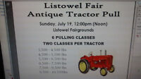 LISTOWEL ANTIQUE TRACTOR PULL