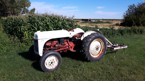Tractor, mower,  cultivator