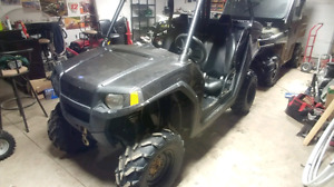 2010 rzr 800 and 2007 artic cat prowler