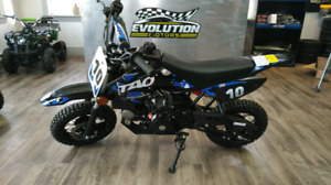 NEW 2018 TAO MOTORS 70cc DIRT BIKE!!!