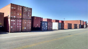 Storage containers/seacans/Import and Export containers