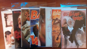 BARB WIRE #1-8 + VARIANT (2015) NM/NM+ ADAM HUGHES COVERS!