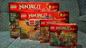 Lego Ninjaga Lot - 5 Different Sets Cambridge Kitchener Area image 1