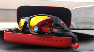 Oakley Jupiter Squared Carbon Ferrari edition