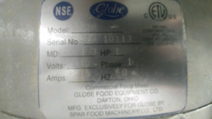 Batteur / Mélangeur industriel Globe