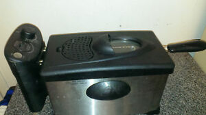 Friteuse a usage domestique Hamilton beach home use deep fryer a
