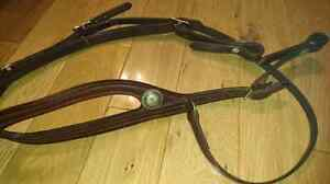 One Eared Leather Headstall Belleville Belleville Area image 5