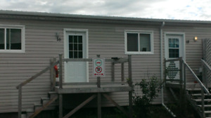 Furnished two bedroom apartment in Clarenville