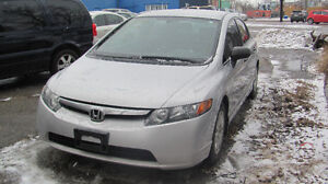 2007 Honda Civic Sedan 4 door ,Auto 144000KM safety & E test