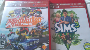 ModNation Racers + The Sims 3 (both for $20)