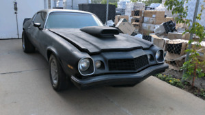 1975 Camaro 4 speed Tades Welcome
