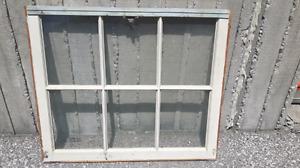 2 single pane windows