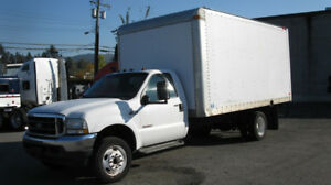 2004 Ford F450 w/16'Box and Ramp