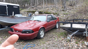 1988 ford Mustang 5.0 will trade for cruiser streetbike