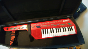 KEYTAR! Yamaha SHS-10 Red vintage in hard case