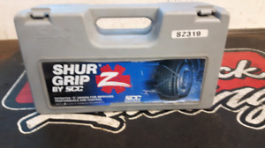 Tire chains (check pics for sizing)