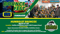 Bounce Fest for Humboldt Broncos