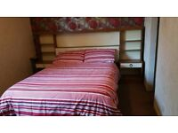 Double room king size bed house share