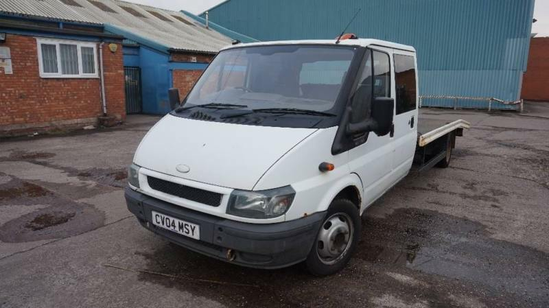 c0b05adaba489c Ford Transit 2.4 TDi 350 L Crewcab Dropside Truck 4dr (Extended Frame