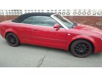 QUICK SALE AUDI 1.8 T convertible 2005 AUTO TAX AND MOT SPARES AND REPAIRS👈