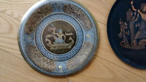 Collection of Vintage Egyptian Walled Plates West Island Greater Montréal image 10