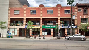 Prime Retail Space on Busy College St near Bathurst St