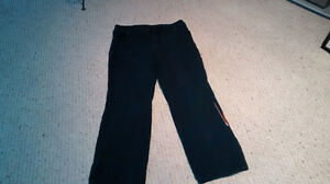 Harley Davidson black pants