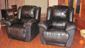 Lazy Boy Recliners - Leather