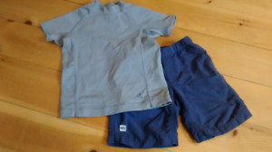 $15 size 3 MEC shorts and Lands End watershirt