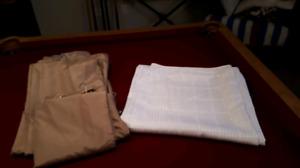 Shower cloth curtains