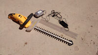 """""""Recharge Tools"""" Cordless Hedge Trimmer 20 """" blade"""