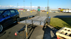 2016 16' BY 6' Double Axel Trailer!! Awesome Condition!!