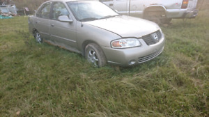2003 nissan Sentra 1.8 for parts