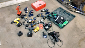 Whack of cordless drills fs or trade