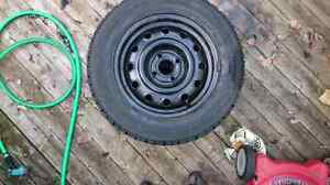 Goodyear Winter Tires with rims 175/65R14 London Ontario image 4