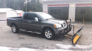 NISSAN TITAN WITH PLOW SPRING SPECIAL