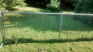 chain link fence used for dog run