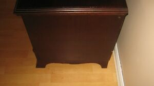 antique red seal cedar chest