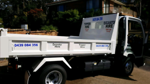 Tipper truck hire $170 per day