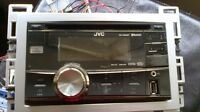 JVC KWR800BT STEREO WITH PAC STEERING WHEEL INTERFACE