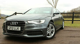 2012 Audi A6 Saloon 2.0TDI ( 177ps )S Line Black Edition VAT Qual1 Year Warranty