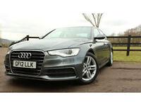 2012 Audi A6 Saloon 2.0TDI ( 177ps )S Line Black Edition VAT Qual1 Year Warranty
