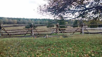 Fencing, Split Rail free estimates