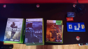 Xbox, Xbox 360, Wii U, GameBoy Advance Games And DS