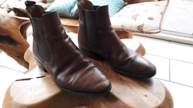 Loake Coltham Dealer Boots Brown size 9