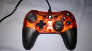 Custom wired ps3 controller