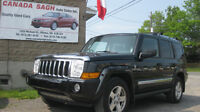2006 JEEP COMMANDER LIMTED,DVD,ROOF,7 pass,6M.WRTY+SAFETY,