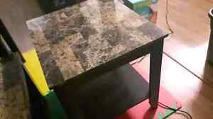 Coffe table and 2 end tables 100$ not negotiable
