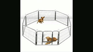 "24"" 8 Panel dog exercise play pen"